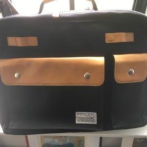 Venque Milano Briefcase - one zipper broken